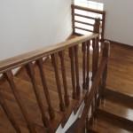 Balustrada din lemn de fag clasica