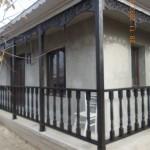 Balustrada lemn exterioara Baragan