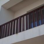 Balustrada din lemn exterior esenta stejar