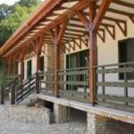 Balustrada exterioara lemn Tulcea