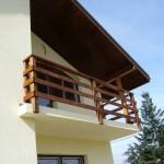 Balustrada exterioara lemn brad Corbeanca