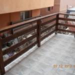 Balustrada exterioara din lemn Constanta