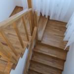 Scara interior lemn stejar finisaj natur