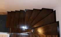 scara lemn interior