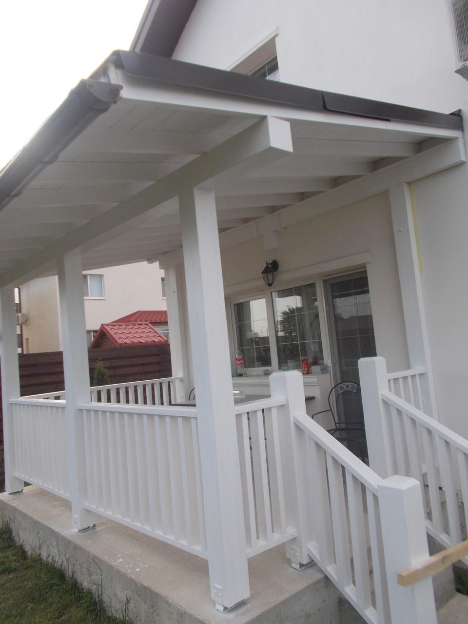 terasa din lemn