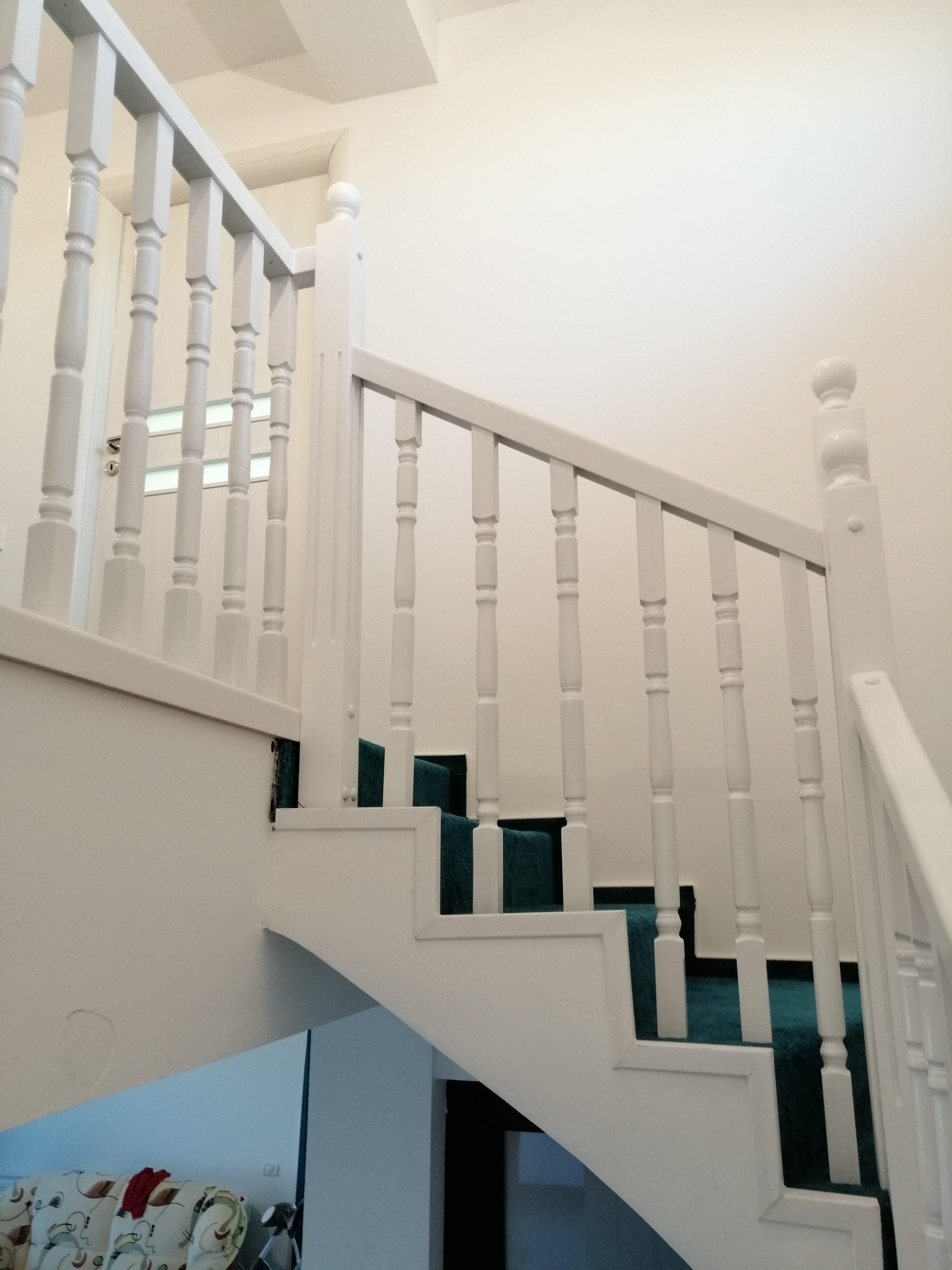 balustrada alba Jilava
